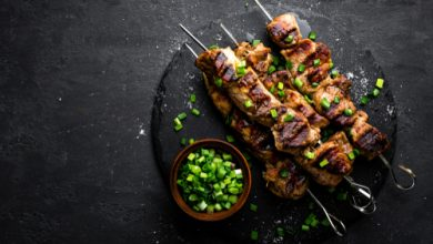 Photo of Harlan Kilstein's Completely Keto Asian Meat Skewers