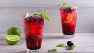 Photo of Harlan Kilstein's Completely Keto Blackberry Mojito