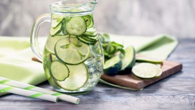 Photo of Harlan Kilstein's Completely Keto Cucumber Lime Water (SK)