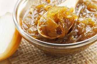Photo of Harlan Kilstein's Completely Keto Onion and Sauerkraut Sauce