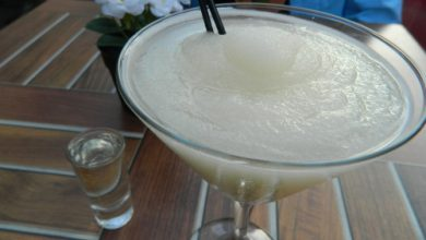Photo of Harlan Kilstein's Completely Keto Frozen Champagne Cocktail