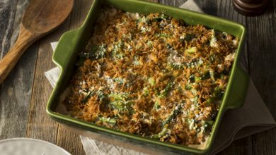 Photo of Harlan Kilstein's Completely Keto Green Bean Casserole