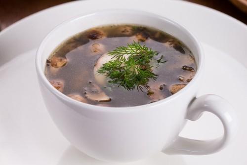 Photo of Harlan Kilstein's Completely Keto Mushroom Zucchini Soup (SK)