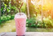 Photo of Harlan Kilstein's Completely Keto Pink Lemonade Smoothie