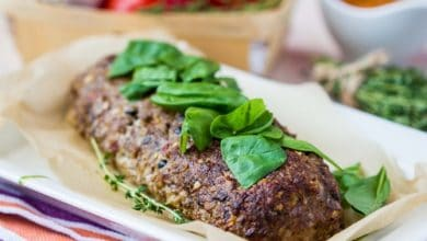 Photo of Harlan Kilstein's Completely Keto Spinach Meatloaf