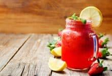 Photo of Harlan Kilstein's Completely Keto Strawberry Lemonade