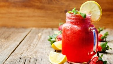 Photo of Harlan Kilstein's Completely Keto Strawberry Lemonade