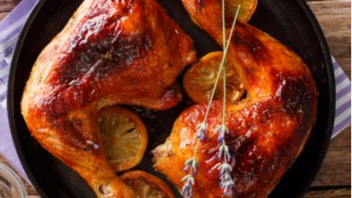 Photo of Harlan Kilstein's Completely Keto Sweet Roast Chicken with Wine