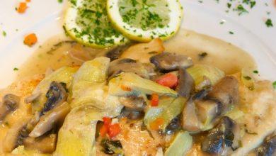 Photo of Harlan Kilstein's Completely Keto Artichoke and Mushroom Chicken
