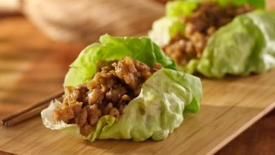 Photo of Harlan Kilstein's Completely Keto Asian Pork Lettuce Wraps