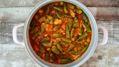 Photo of Harlan Kilstein's Completely Keto Beef Okra Stew