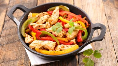 Photo of Harlan Kilstein's Completely Keto Baked Chicken Fajitas (SK)