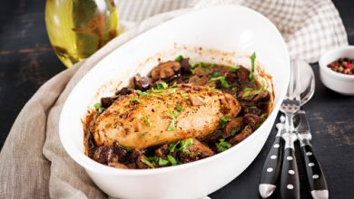 Photo of Harlan Kilstein's Completely Keto Chicken in Balsamic Sauce with Mushrooms