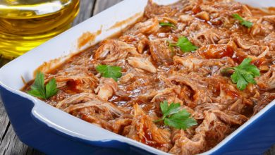 Photo of Harlan Kilstein's Completely Keto Crock Pot Juicy Pulled Chicken