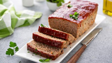 Photo of Harlan Kilstein's Completely Keto Glazed Beef and Pork Meatloaf