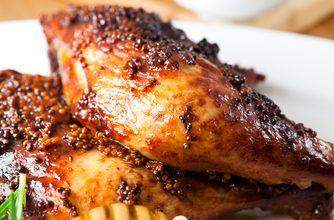 Photo of Harlan Kilstein's Completely Keto Honey Spiced Chicken