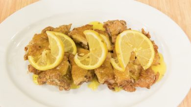 Photo of Harlan Kilstein's Completely Keto Sweet and Sour Fried Lemon Chicken