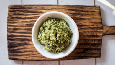 Photo of Harlan Kilstein's Completely Keto Walnut Pesto