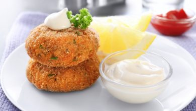 Photo of Harlan Kilstein's Completely Keto Almond Salmon Patties