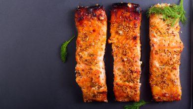 Photo of Harlan Kilstein's Completely Keto Mustard Salmon (SK)