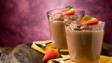 Photo of Harlan Kilstein's Completely Keto Peanut Butter Chocolate Mousse