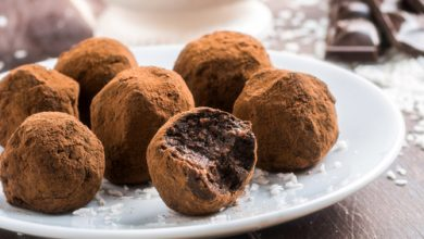 Photo of Harlan Kilstein's Completely Keto Whiskey Chocolate Truffles