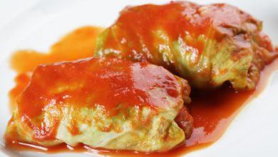Photo of Harlan Kilstein's Completely Keto Cheesy Stuffed Cabbage