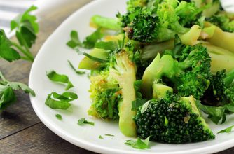 Photo of Harlan Kilstein's Completely Keto Garlic Broccoli Salad (SK)