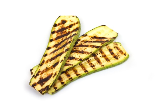 Photo of Harlan Kilstein's Completely Keto Grilled Parmesan Zucchini