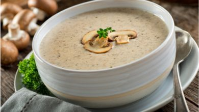 Photo of Harlan Kilstein's Completely Keto Mushroom Soup