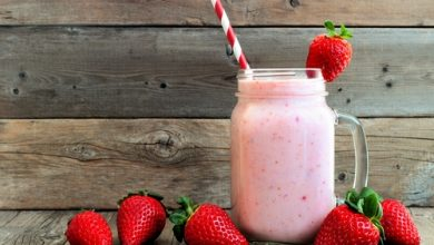 Photo of Harlan Kilstein's Completely Keto Honey Strawberry Smoothie
