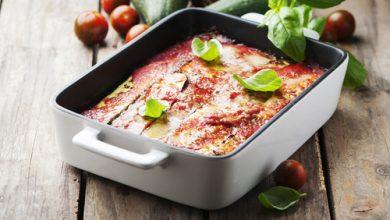 Photo of Harlan Kilstein's Completely Keto Zucchini Parmesan