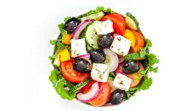 Photo of Harlan Kilstein's Completely Keto Greek Salad