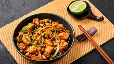 Photo of Harlan Kilstein's Completely Keto Kung Pao Chicken