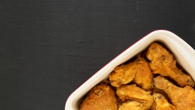 Photo of Harlan Kilstein's Completely Keto Oven Fried Chicken