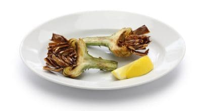 Photo of Harlan Kilstein's Completely Keto Roman Artichokes (SK)