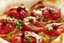 Photo of Harlan Kilstein's Completely Keto Cheesy Tuna Stuffed Tomatoes