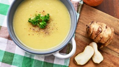 Photo of Harlan Kilstein's Completely Keto Creamy Artichoke Soup
