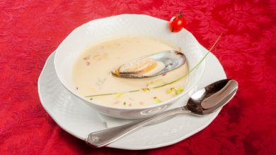 Photo of Harlan Kilstein's Completely Keto Creamy Mussel Soup