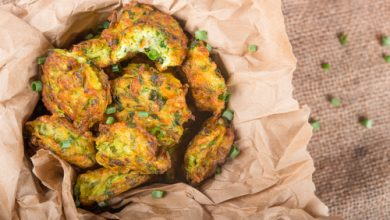 Photo of Harlan Kilstein's Completely Keto Cheesy Zucchini Patties